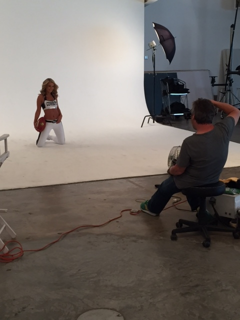 2016 Dallas Cowboys Rhythm and Blue Photoshoot- Behind the Scenes