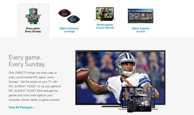 DIRECTV Lines Up Dak Prescott for NFL SUNDAY TICKET