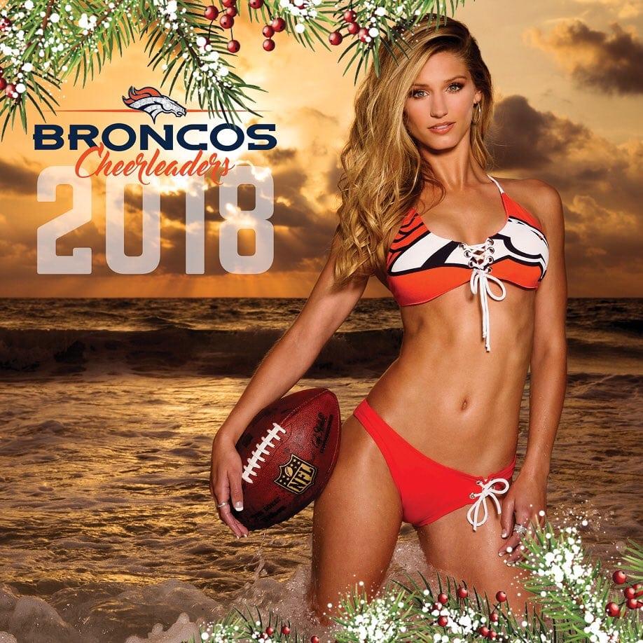 Denver Broncos Cheerleaders 2018 Swimsuit Calendar Is