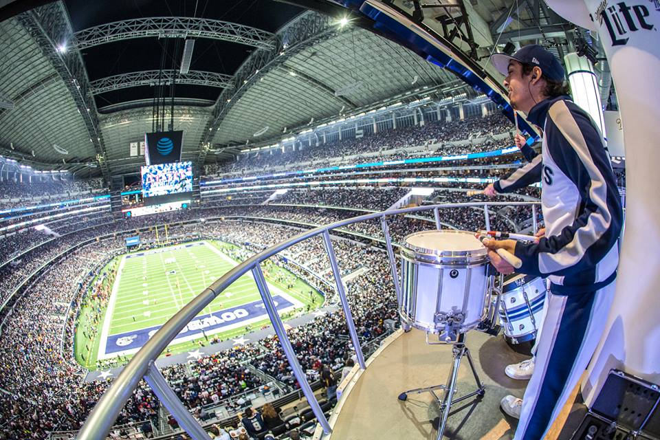 a6281bab1b209 The Dallas Cowboys Rhythm   Blue Drumline is looking for talented young men  and women to join the America s Drumline for the 2017-18 season!