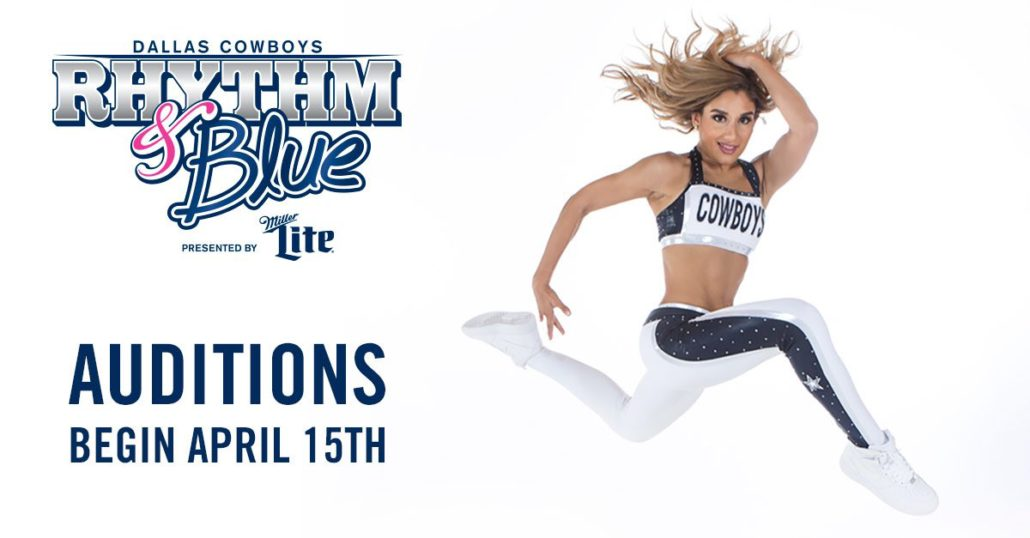7d518e0c382ea Dallas Cowboys Rhythm   Blue Dancers 2018 Auditions Dates - Pro ...