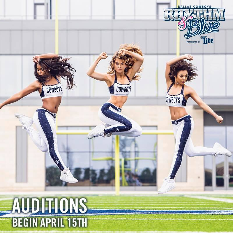 3f5d2927a3570 The Dallas Cowboys Rhythm   Blue Dancers are looking for talented young men  and women to join their squad for the 2018 NFL season.