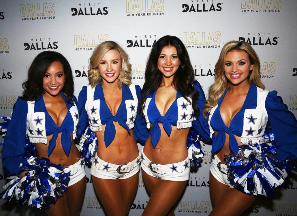 Dallas Cowboys Cheerleaders At Dallas Tv Series 40th Year Reunion