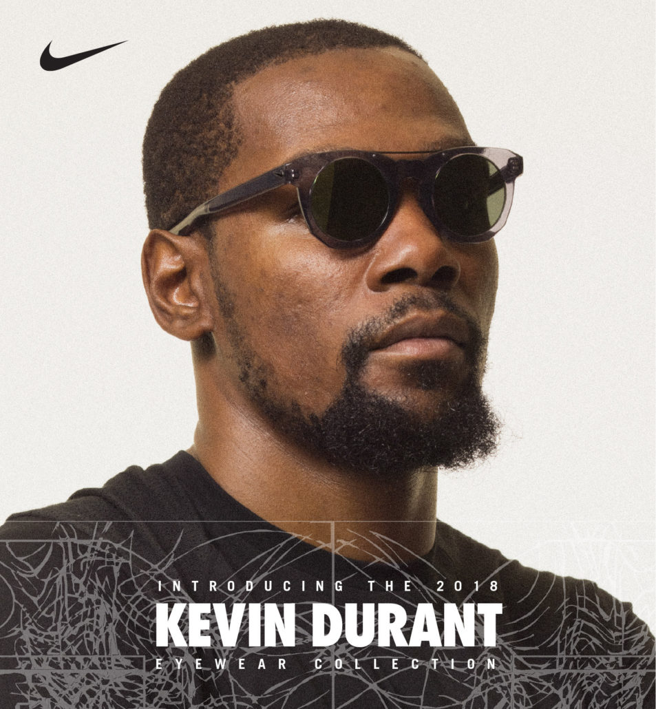 bed287974cb NEW YORK — Premium sports eyewear brand Nike Vision has teamed up again  with two-time NBA Finals MVP and back-to-back World Champion Kevin Durant  for his ...