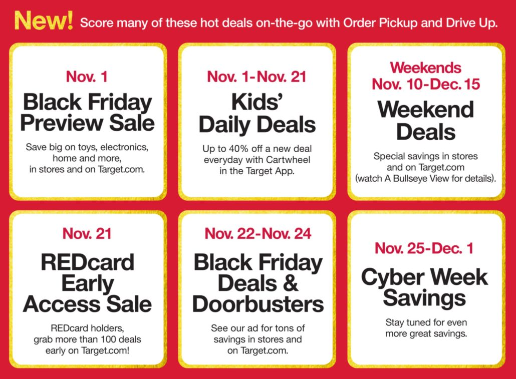 Target Ushers In The Holidays With Reveal Of Black Friday Deals New Skip The Line Mobile Checkout Technology Pro Dance Cheer