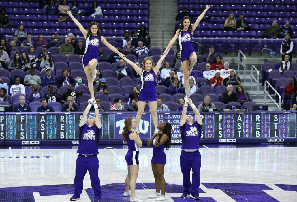 Tcu Cheerleaders Photos From Tcu Vs Southern Womens Basketball-1234