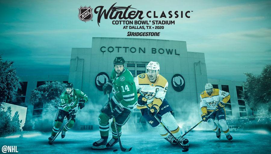 2020 Bridgestone Nhl Winter Classic Will Feature The Dallas Stars