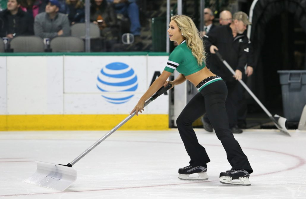 timeless design 09037 c8d2c Photos of Dallas Stars Ice Girls from Stars vs New Jersey ...