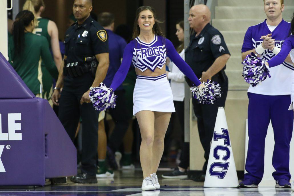 Photos Of Tcu Cheerleaders From Tcu-Baylor Womens Basketball-9926