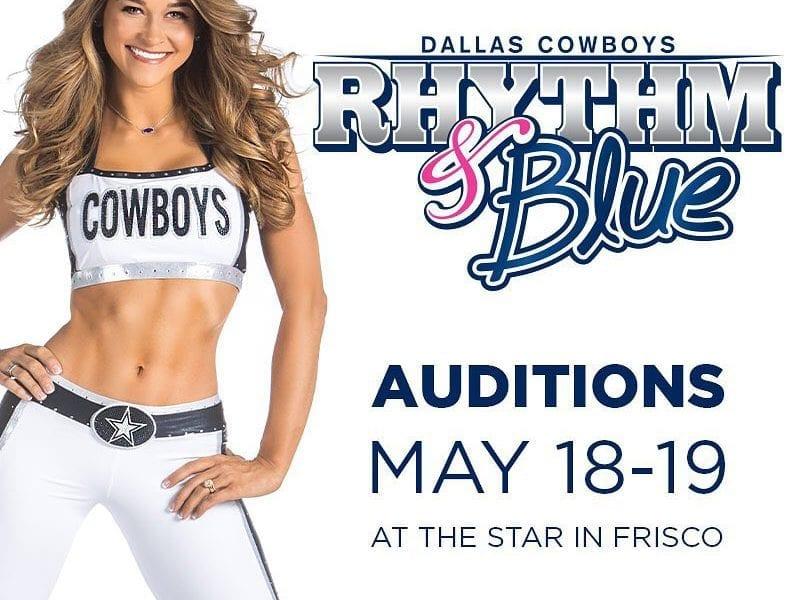 dd4a10f7d8998 The Dallas Cowboys Rhythm   Blue Dancers preliminary auditions are set for  May 18th followed by the finals on May 19th.