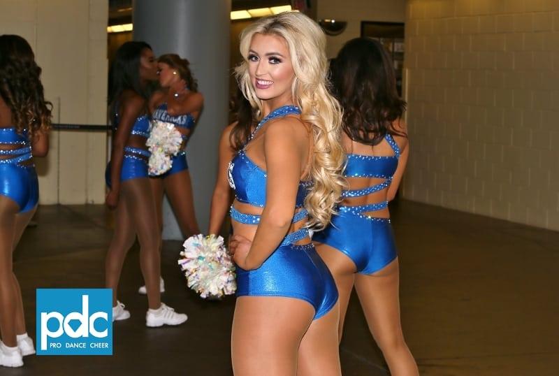 Dallas Mavericks Dancers Mavs Vs Oklahoma City Thunder