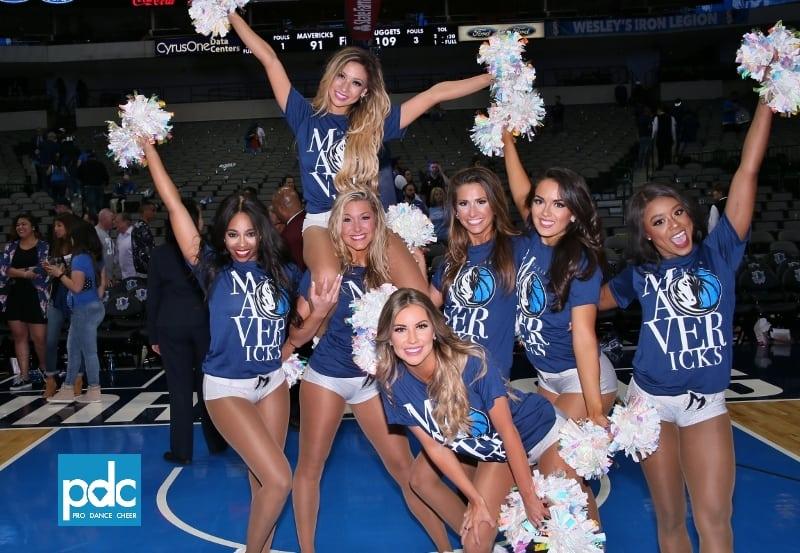 Dallas Mavericks Dancers Mavs Last Game Of The Season