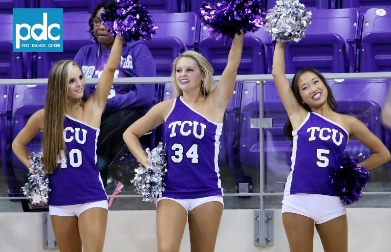 TCU SHOWGIRLS & CHEER (Womens Basketball vs Grambling ...